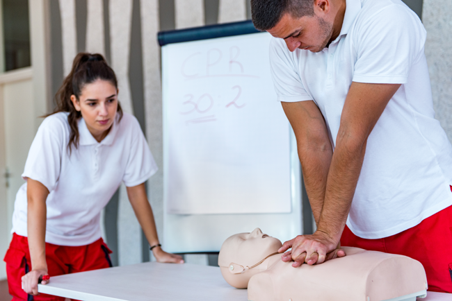 First Aid CPR Training