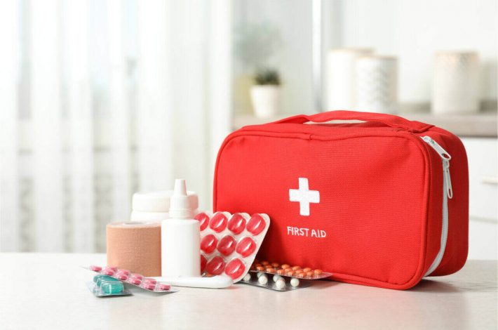 What should be in a first aid kit? Let's see what you have in there.