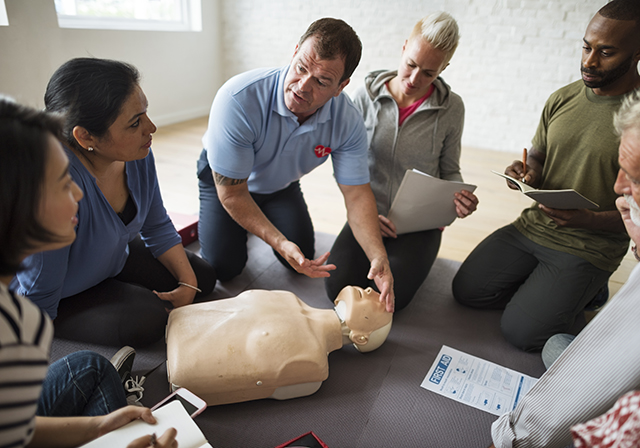 first aid cpr class