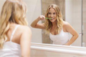 brushing regularly